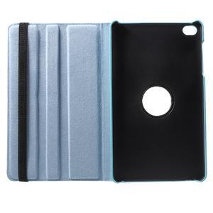 Otočné polohovateľné puzdro na Huawei MediaPad M2 - svetlemodré - 7