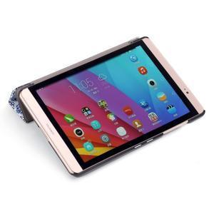 Třípolohové pouzdro na tablet Huawei MediaPad M2 8.0 - vintage - 7