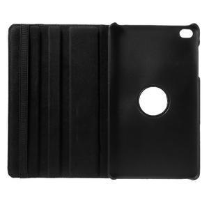 Otočné polohovatelné pouzdro na Huawei MediaPad M2 - černé - 7