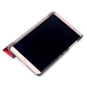 Trifold polohovatelné puzdro na tablet Huawei MediaPad M2 8.0 - červené - 7