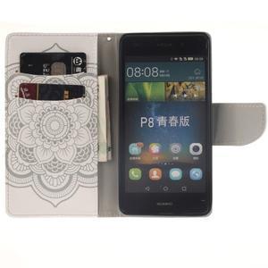 Leathy PU kožené pouzdro na Huawei P8 Lite - mandala - 7