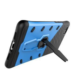 Armory odolný obal se stojanem na mobil P8 Lite - modrý - 7