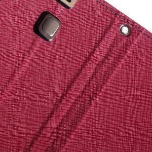 Diary PU kožené pouzdro na mobil Huawei P9 - rose - 7