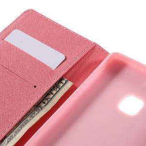 Richi PU kožené puzdro na Huawei P9 Lite - sovičky - 7