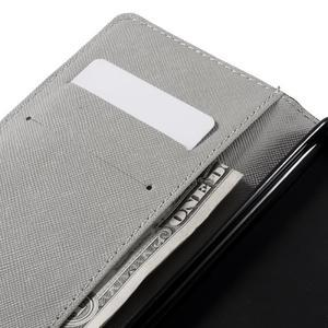 Richi PU kožené puzdro na Huawei P9 Lite - medvedík - 7