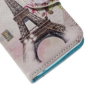 Emotive PU kožené pouzdro na Huawei Y5 - Eiffelova věž - 7