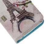 Emotive PU kožené pouzdro na Huawei Y5 - Eiffelova věž - 7/7