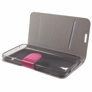 Horse peněženkové pouzdro na mobil Huawei Y5 a Y560 - rose - 7