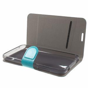 Horse peňaženkové puzdro na mobil Huawei Y5 a Y560 - modré - 7