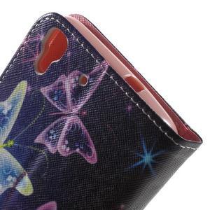 Emotive pouzdro na mobil Huawei Y6 - kouzelní motýlci - 7