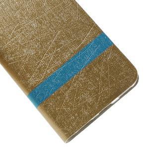 Lines pouzdro na mobil Huawei Y6 - zlaté - 7