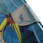 Emotive pouzdro na mobil Huawei Y6 - modrý motýl - 7/7