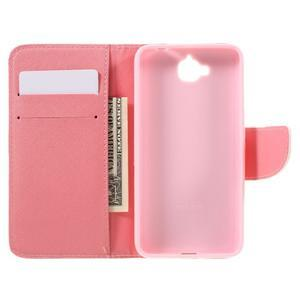 Emotive peňaženkové puzdro na mobil Huawei Y6 Pro - zelený strom - 7
