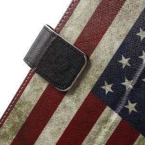 Štýlové puzdro pre iPad mini 4 - US vlajka - 7