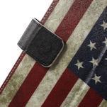 Štýlové puzdro pre iPad mini 4 - US vlajka - 7/7
