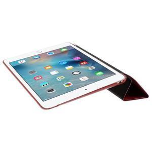 Origami polohovateľné puzdro pre iPad mini 4 - červené - 7