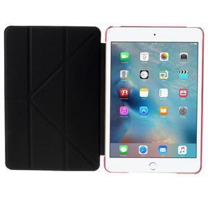 Origami polohovateľné puzdro pre iPad mini 4 - rose - 7