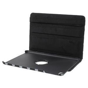 Cyrc otočné puzdro pre iPad mini 4 - čierne - 7