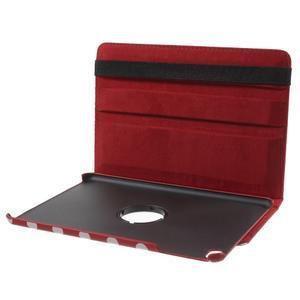 Cyrc otočné puzdro pre iPad mini 4 - červené - 7