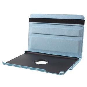 Cyrc otočné puzdro pre iPad mini 4 - svetlo modré - 7