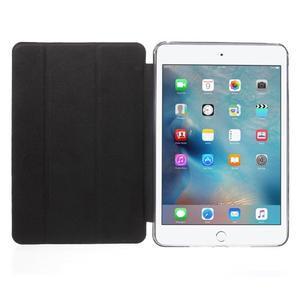 Trifold trojpolohový puzdro pre tablet iPad mini 4 - čierne - 7