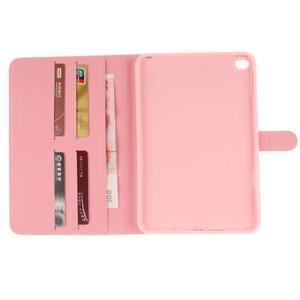 Standy pouzdro na tablet iPad mini 4 - ptačí peříčko - 7