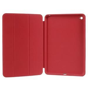 Slimové polohovatelné pouzdro na iPad mini 4 - červené - 7