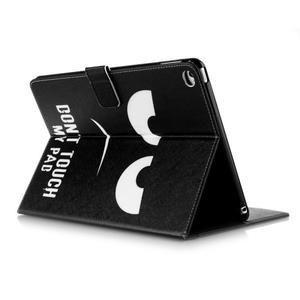 Knížkové pouzdro na tablet iPad mini 4 - nešahat - 7