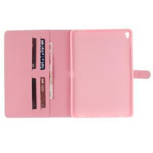 Knížkové pouzdro na tablet iPad Pro 9.7 - barevní peříčka - 7