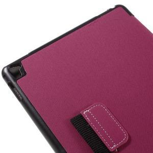 Clothy PU kožené pouzdro na iPad Pro 9.7 - rose - 7