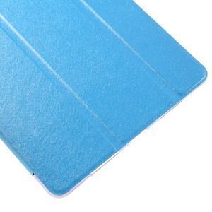 Trifold polohovatelné pouzdro na tablet iPad Pro 9.7 - modré - 7