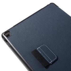Clothy PU kožené pouzdro na iPad Pro 9.7 - tmavěmodré - 7