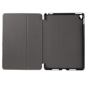 Clothy PU kožené pouzdro na iPad Pro 9.7 - černé - 7