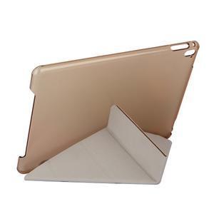 Extra origami polohovatelné pouzdro na iPad Pro 9.7 - zlaté - 7