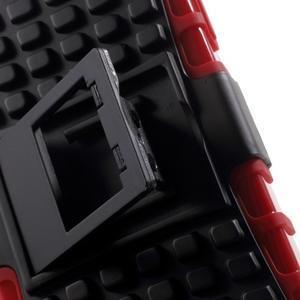 Outdoor odolný obal pre mobil iPhone 4 - červený - 7