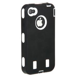 Armor vysoce odolný obal pre iPhone 4 - čierne - 7