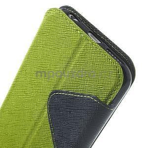 Peňaženkové puzdro s okienkom na iPhone 6 a 6s - zelené - 7