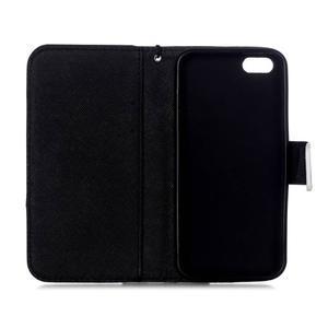 Peňaženkové puzdro pre mobil iPhone SE / 5s / 5 - nedotýkať sa - 7