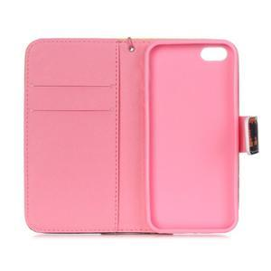 Peňaženkové puzdro pre mobil iPhone SE / 5s / 5 - zapadajúce slnko - 7