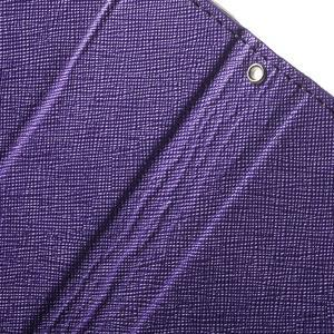 Cross PU kožené pouzdro na iPhone SE / 5s / 5 - fialové - 7
