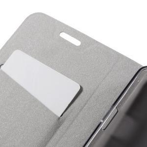 Horse peňaženkové puzdro pre Lenovo Vibe P1m - modré - 7