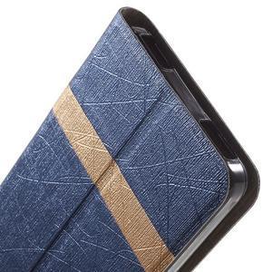 Klopové puzdro na mobil Lenovo Vibe P1m - tmavo modré - 7