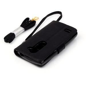 Magicfly puzdro pre mobil LG Leon - čierne - 7