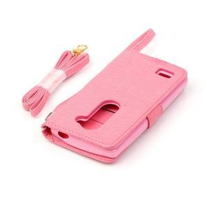 Magicfly pouzdro na mobil LG Leon - růžové - 7