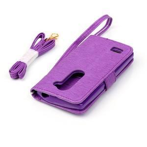 Magicfly pouzdro na mobil LG Leon - fialové - 7