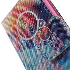 Emotive knížkové puzdro pre mobil LG Leon - snívanie - 7