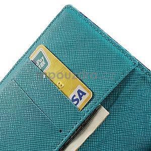 Obrazové peňaženkové puzdro na Huawei Ascend P7 - loďka - 7