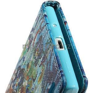 Obrazové peňaženkové puzdro na Huawei Ascend P7 - abstrakt - 7
