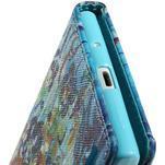 Obrazové peňaženkové puzdro na Huawei Ascend P7 - abstrakt - 7/7