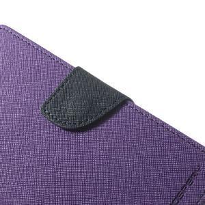 Fancy Peňaženkové puzdro pre Sony Xperia Z2 - fialové - 7